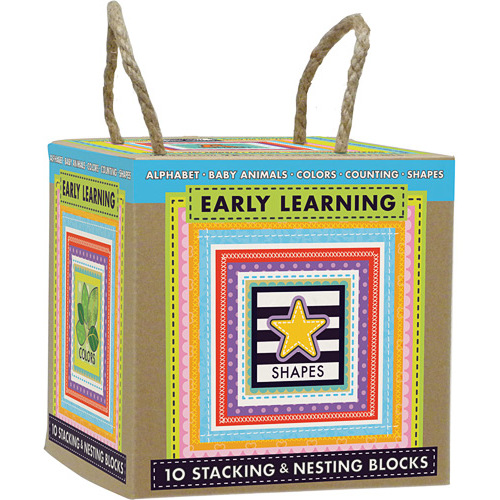 Innovative Kids Green Start | Stacking And Nesting Blocks Set