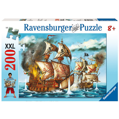 Ravensburger Pirates Battle Puzzle 200pc