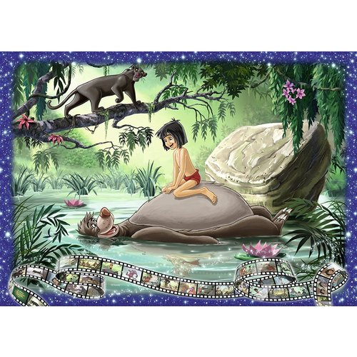 Ravensburger Disney Memories Collectors Edition - Jungle Book Jigsaw Puzzle 1000pc