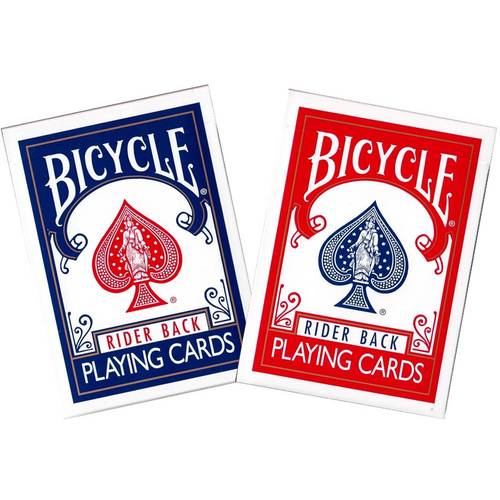 Bicycle Rider Back Classic Playing Cards