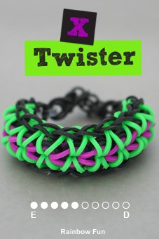 Instructions on how to make Rainbow Loom Designs - Loom Bracelets